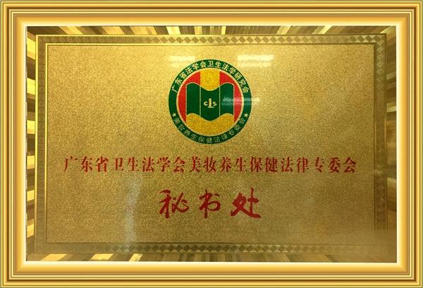 广东省卫生法学会美妆养